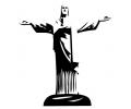 Religieus/Spiritueel tattoo voorbeeld Christus beeld Rio - Corcovado 2