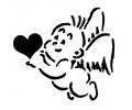 Cupido tattoo voorbeeld Cupido1