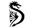 Draken tattoo voorbeeld Draak 68