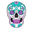Day of the Dead Skulls tattoo voorbeeld Day of the Dead Skull 9