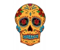 Day of the Dead Skulls tattoo voorbeeld Day of the Dead Skull 15