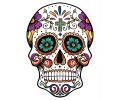 Day of the Dead Skulls tattoo voorbeeld Day of the Dead Skull 18