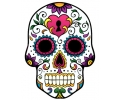 Day of the Dead Skulls tattoo voorbeeld Day of the Dead Skull 22