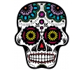 Day of the Dead Skulls tattoo voorbeeld Day of the Dead Skull 23
