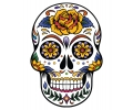 Day of the Dead Skulls tattoo voorbeeld Day of the Dead Skull 29