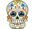 Day of the Dead Skulls tattoo voorbeeld Day of the Dead Skull 34