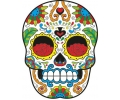 Day of the Dead Skulls tattoo voorbeeld Day of the Dead Skull 35