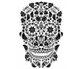 Day of the Dead Skulls tattoo voorbeeld Day of the Dead Skull 4
