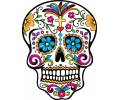 Day of the Dead Skulls tattoo voorbeeld Day of the Dead Skull 7