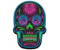 Day of the Dead Skulls tattoo voorbeeld Day of the Dead Skull