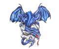 Draken tattoo voorbeeld Draak 3