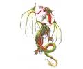 Draken tattoo voorbeeld Draak Groen