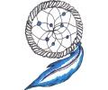 Dreamcatchers / Dromenvangers tattoo voorbeeld Dreamcatcher 13