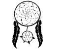 Dreamcatchers / Dromenvangers tattoo voorbeeld Dreamcatcher 14