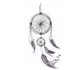 Nieuw!!! Plaktattoos tattoo voorbeeld Dreamcatcher 19
