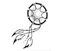 Dreamcatchers / Dromenvangers tattoo voorbeeld Dreamcatcher Abstract