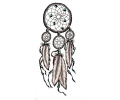 tattoo voorbeeld Dreamcatcher Miley Cyrus