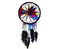 Dreamcatchers / Dromenvangers tattoo voorbeeld Dreamcatcher Watercolor Style