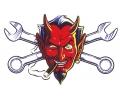Boosaardige Tattoos tattoo voorbeeld Duivel Sleutels