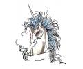 Eenhoorns tattoo voorbeeld Unicorn