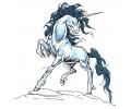 Eenhoorns tattoo voorbeeld Unicorn 2