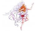 Engelen tattoo voorbeeld Engel 1