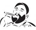 Politiek tattoo voorbeeld Fidel