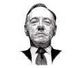 Hollywood tattoo voorbeeld Frank Underwood 3
