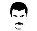 Muziek tattoo voorbeeld Freddie Mercury 3