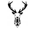 Geometrische Tattoos tattoo voorbeeld Geometrisch Hert