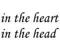 Spreuken / Poëzie tattoo voorbeeld Heart