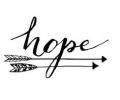 Spreuken / Poëzie tattoo voorbeeld Hope