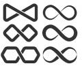 Nieuw!!! Plaktattoos tattoo voorbeeld Infinity Pakket 1