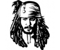 Hollywood tattoo voorbeeld Jack Sparrow