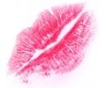 Kus / Lippen tattoo voorbeeld Kus afdruk 2