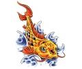 Vissen & Koi Karpers tattoo voorbeeld Koi 5
