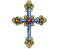 Religieus/Spiritueel tattoo voorbeeld Kruis 2