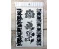 Zwarte Kanten Tattoos tattoo voorbeeld Lace (Kant) Tattoo Set 015 15 x 21 cm