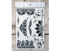 Zwarte Kanten Tattoos tattoo voorbeeld Lace (Kant) Tattoo Set 016 15 x 21 cm