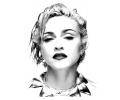 Muziek tattoo voorbeeld Madonna 2
