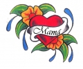 Moederdag tattoo voorbeeld Mama Tattoo 1