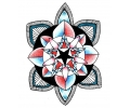 Mandala tattoo voorbeeld Mandala 14