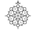 Mandala tattoo voorbeeld Mandala 2