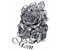 Moederdag tattoo voorbeeld Moederdag Tattoo 1
