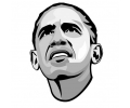 Politiek tattoo voorbeeld Obama 1