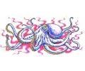 Zeemeermin tattoo voorbeeld Octopus 2