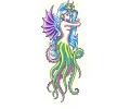 Zeemeermin tattoo voorbeeld Octopus 4
