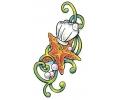 Overige Zeedieren tattoo voorbeeld Oester, Zeester en Parels