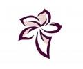 Bloemen tattoo voorbeeld Paarse bloem