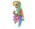 Overige dieren tattoo voorbeeld Papegaai